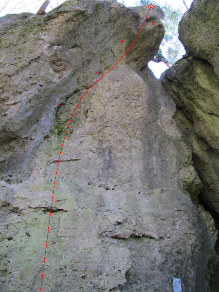 Rock Climbing Photo: Pig in the Corner
