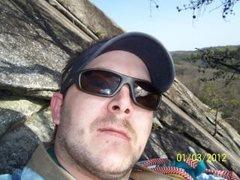 Rock Climbing Photo: Clillin on Ledge at Stone Mtn. NC!