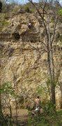 Rock Climbing Photo: Full view of the climb.  Photo by Tim Schumann.
