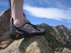 Rock Climbing Photo: A Gambit atop Gambit.