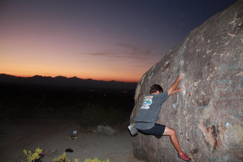 Bouldering Ridgecrest