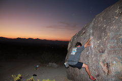 Rock Climbing Photo: Bouldering Ridgecrest