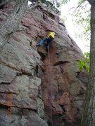 Rock Climbing Photo: Pitch 8 of 10 hour lead marathon. 4-29-12.