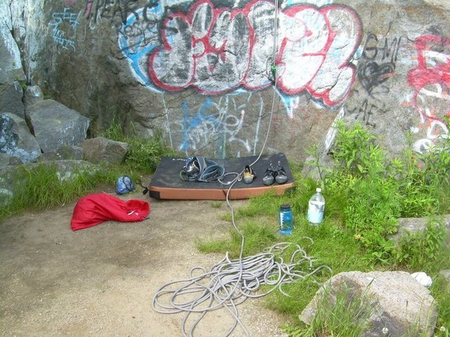 Rock Climbing Photo: Random