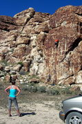 Rock Climbing Photo: Could someone do something about the approach to t...