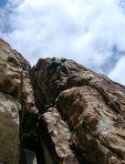 Rock Climbing Photo: Top of Ewe Make It... ?