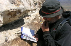 Rock Climbing Photo: Hmmm... says here there is a toy sheep at the begi...