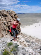 Rock Climbing Photo: Multi-sport day, Ibex style. Fore!