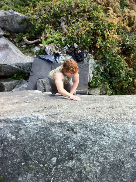 Cutting Edge Slab <br> Squamish, BC