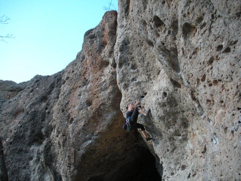 Rock Climbing Photo: Enchanted Tower, NM