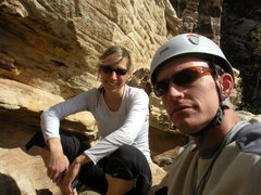 Resting on the Black Widow Hollow, Red Rock, NV