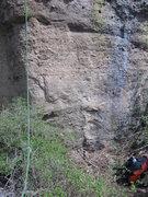 Rock Climbing Photo: V8 start