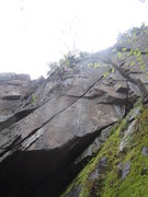 Rock Climbing Photo: love crack. the whole thing doesnt fit in the phot...