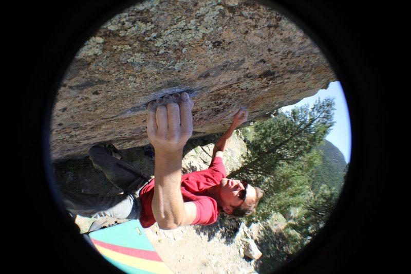 Rock Climbing Photo: Chubby Bunny.