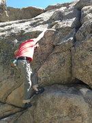 Rock Climbing Photo: A few warm up laps... very fun problem.
