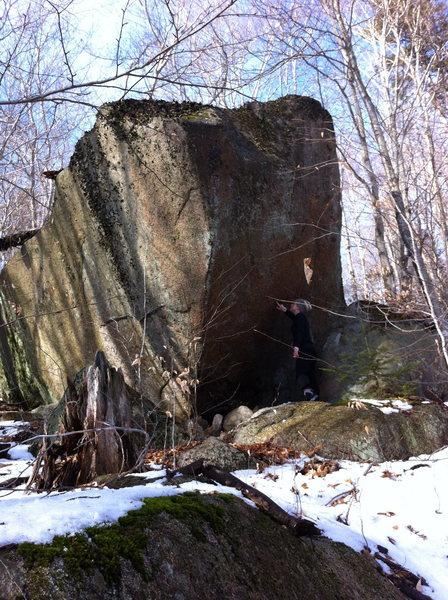 Rock Climbing Photo: Davis Boulders