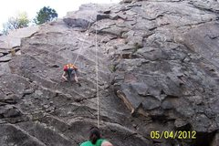 Rock Climbing Photo: My 6 year old climbing on the left side... not sur...
