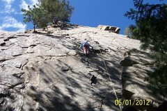 Rock Climbing Photo: Great spot to take the kids.  Easy top rope set up...