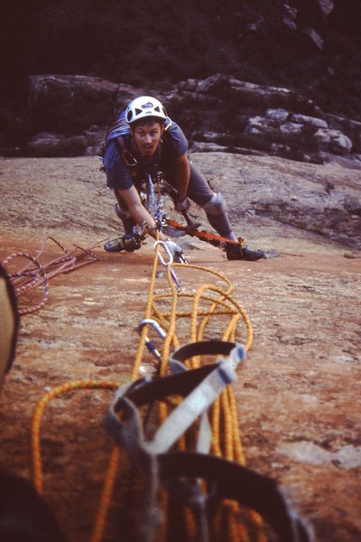 Rock Climbing Photo: Top 5th pitch