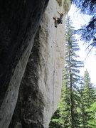 Rock Climbing Photo: Al tearing it up