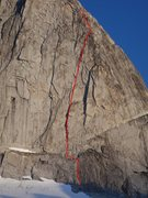Rock Climbing Photo: Divine Intervention