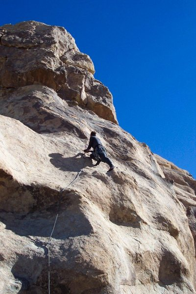 "Rock Climbing Photo: At the Second Bolt on ""Fun Stuff"". Photo..."