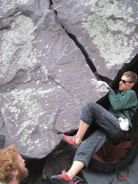 Rock Climbing Photo: Stu