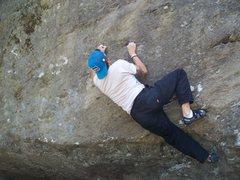 Rock Climbing Photo: neat little v5