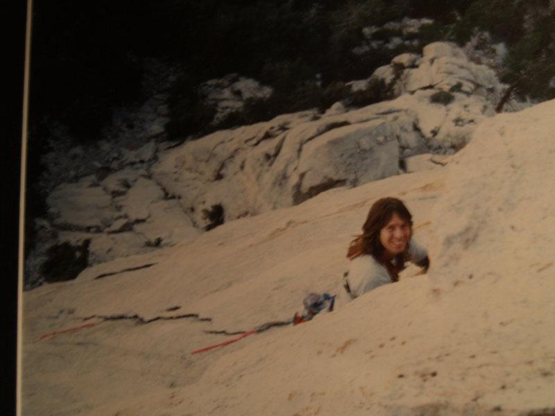 "Rock Climbing Photo: On ""The Vampire"""