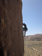 Rock Climbing Photo: Black Plastic Streetwalker/ Lessons From Laeger