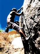 Rock Climbing Photo: Hangin'