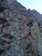 Rock Climbing Photo: Bolts 1-2 are easily spotted. Can you see bolt 3? ...