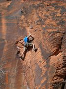 Rock Climbing Photo: in the crux