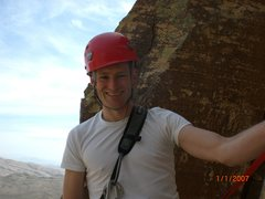 Rock Climbing Photo: ME on top of Triassic Sands