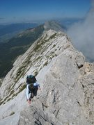 Rock Climbing Photo: Traversée des arêtes on Gerbier after a climb of...