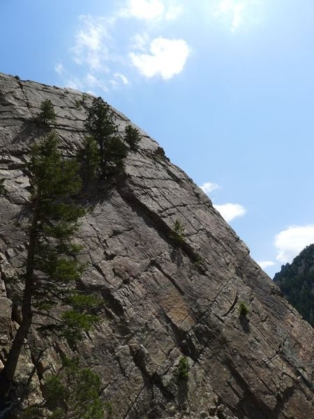Rock Climbing Photo: Looking toward Icarus/Yellow Spur finale.