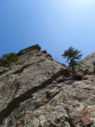 Rock Climbing Photo: Top of the arete.