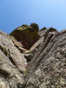 Rock Climbing Photo: Stemming fun.