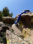 Rock Climbing Photo: New summit rap gear.