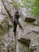 Rock Climbing Photo: hellfire variation