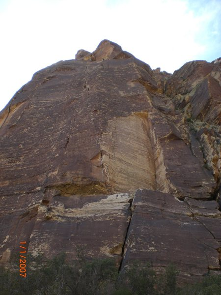 Rock Climbing Photo: triassic sands