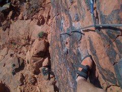 Rock Climbing Photo: red rock canyon, nv