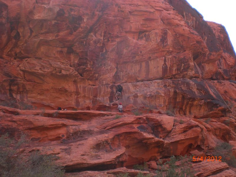 Rock Climbing Photo: Climbing at the Sandbox