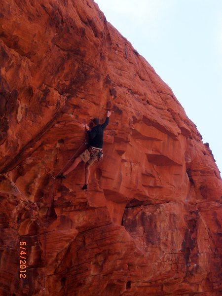 Rock Climbing Photo: 12c at the sandbox