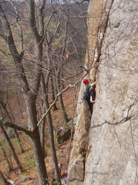 Rock Climbing Photo: Dunbar Carpenter