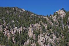 Rock Climbing Photo: Upper Right.