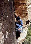 Rock Climbing Photo: Matt Kuehl on the alternate 5.11b start to All You...