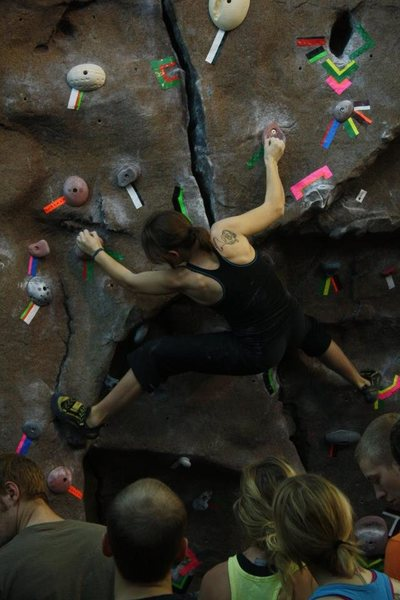 Bouldering, competition, Ohio