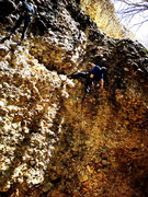 Rock Climbing Photo: Taking a breather