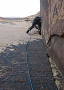 Rock Climbing Photo: The exceptional pitch two of All You Can Eat!